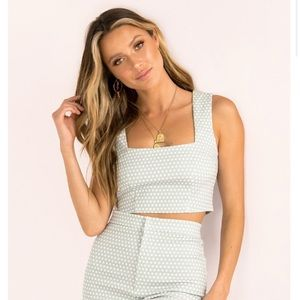 Sundae Muse Dion Top in Mint